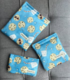 Milk and Cookies Reusable Bag