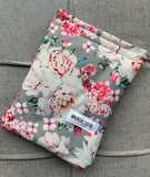 Grey Roses Reusable Bag