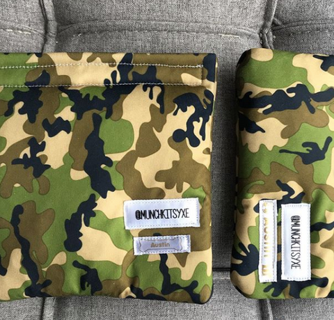 Camo Reusable Bag