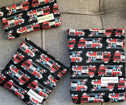 Firetruck Reusable Bag