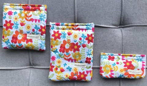 Flowers Reusable Bag