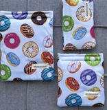 White Donuts Reusable Bag