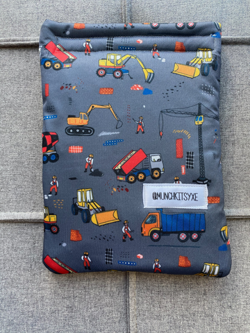 Grey Construction Reusable Bag