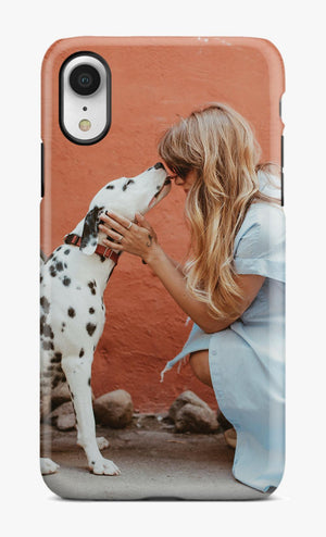 I LOVE MY DOG PHOTO PHONE CASE™ A -  ADD YOUR OWN PHOTO - Try It Now