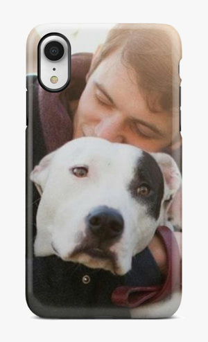 I LOVE MY DOG PHOTO PHONE CASE™ -  ADD YOUR OWN PHOTO - Try It Now