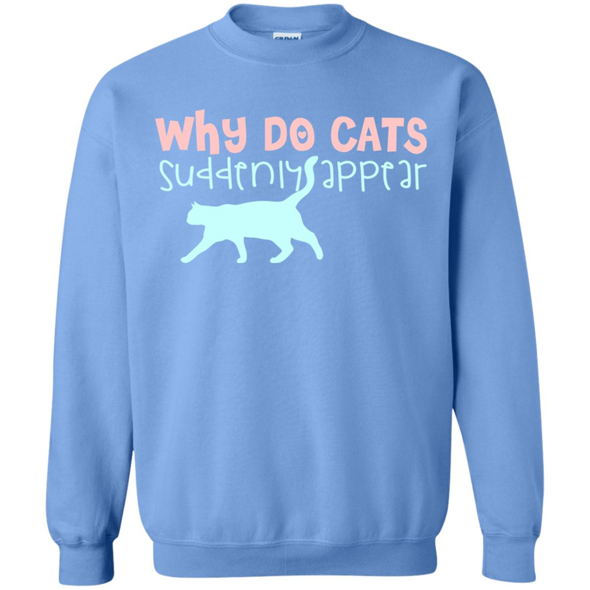 WHY DO CATS SUDDENLY APPEAR 😻 SWEATSHIRT
