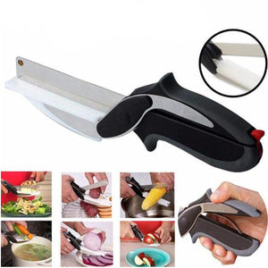 Stainless Steel 2 in 1 Cutting Board/Chopper - Multifunctional Cutter