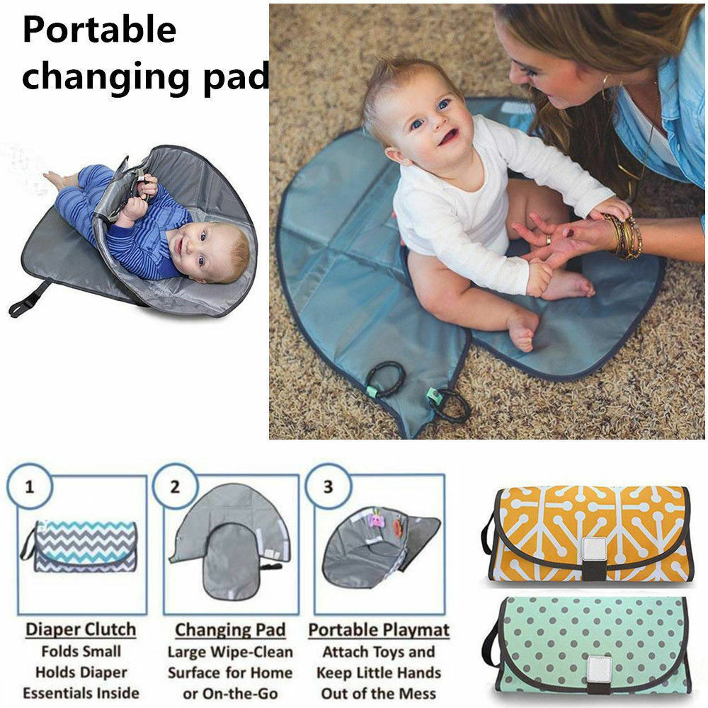 Waterproof 3 in 1 - Baby Changing Cover Pad