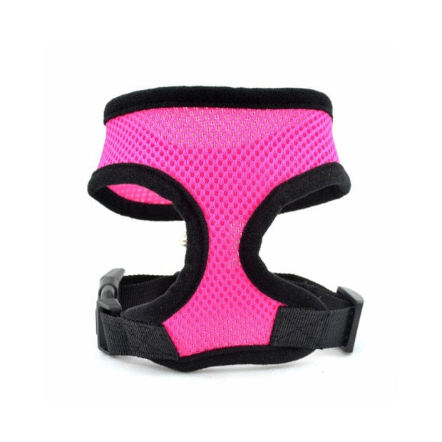 Pet Dog Harness Leash-pawproducts.net-Pink-L-pawproducts.net