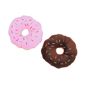 Pet Chew Cotton Donut-pawproducts.net-Brown-11-13cm-pawproducts.net