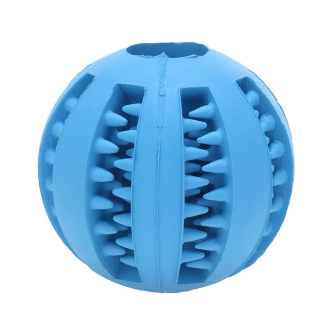 Dog Toy Interactive Rubber Balls-pawproducts.net-Dark Blue-5 cm-pawproducts.net