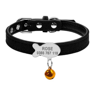 Cat Collar with Bell Personalized Safety-pawproducts.net-Silver Fish 1-S-pawproducts.net