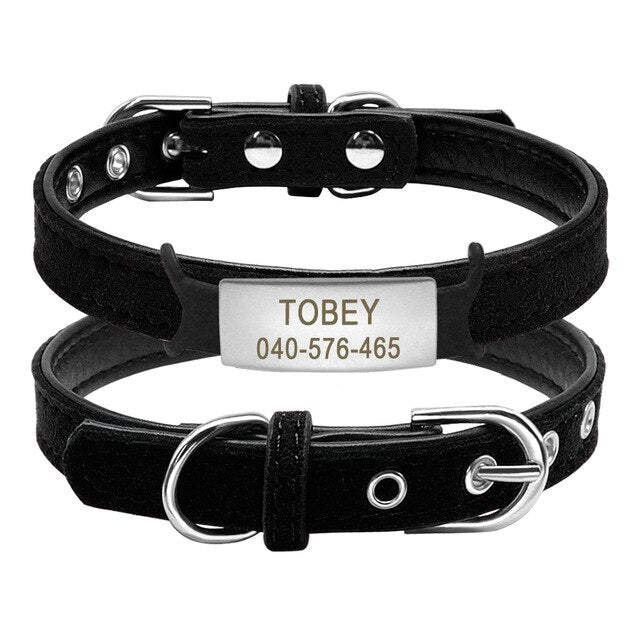 Cat Collar with Bell Personalized Safety-pawproducts.net-Tag 1-S-pawproducts.net