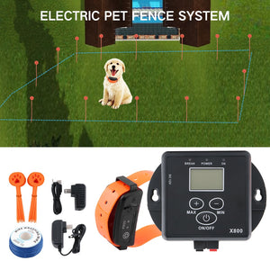 Electronic Wireless Remote Dog Training Collar Fence-pawproducts.net-A Pet Fence Kit-pawproducts.net