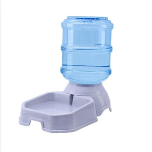 Plastic Pet drinkers dog automatic feeder drinking-pawproducts.net-Green-pawproducts.net