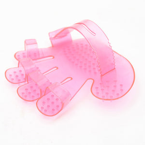 Cat Grooming Glove-pawproducts.net-pink-Free Size-pawproducts.net
