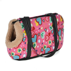 Classic Pet Carrier For Small Dogs-pawproducts.net-with fur 2-S 45 x 21 x 22 CM-pawproducts.net
