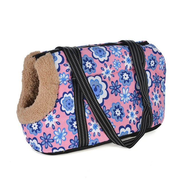 Classic Pet Carrier For Small Dogs-pawproducts.net-with fur 3-S 45 x 21 x 22 CM-pawproducts.net