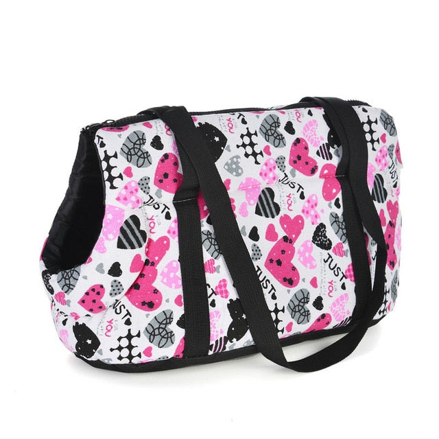 Classic Pet Carrier For Small Dogs-pawproducts.net-without fur 2-S 45 x 21 x 22 CM-pawproducts.net