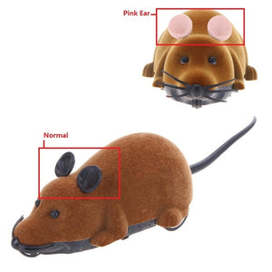 Mouse Wireless RC Mice Cat Toys-pawproducts.net-Brown-16 x 7 x 8 cm-pawproducts.net