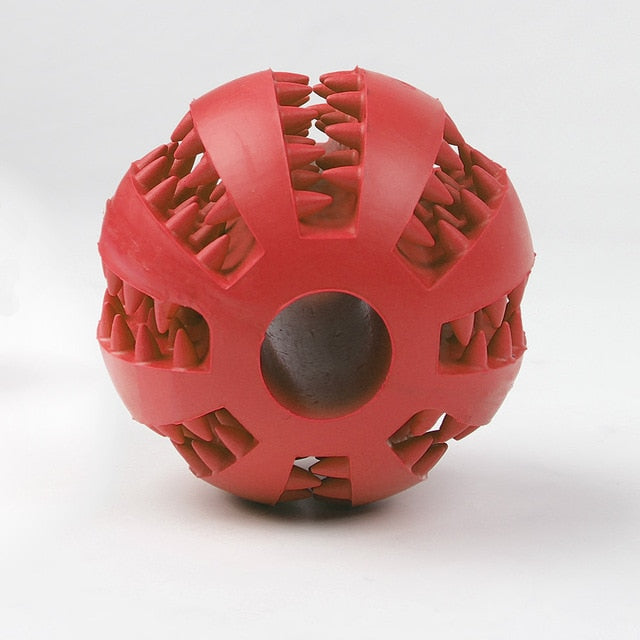 Interactive Elasticity Ball Dog Chew Toy-pawproducts.net-red-L-pawproducts.net