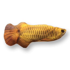 Pet Soft Plush Creative 3D Carp Fish Shape Cat Toy-pawproducts.net-arowana-20cm-pawproducts.net