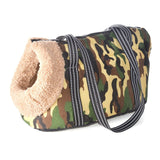 Classic Pet Carrier For Small Dogs-pawproducts.net-with fur-S 45 x 21 x 22 CM-pawproducts.net