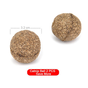 Natural Catnip Toys For Cats-pawproducts.net-2PCS Catnip Ball-pawproducts.net