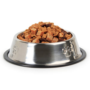 Stainless Steel Pets Dog Bowl-pawproducts.net-Footprint Dog Bowl-XS-pawproducts.net