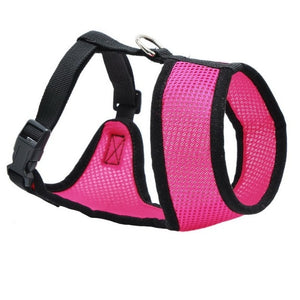 Dog Chest Breathable Dog Harness-pawproducts.net-dark pink-XS-pawproducts.net