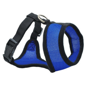 Dog Chest Breathable Dog Harness-pawproducts.net-dark blue-XS-pawproducts.net