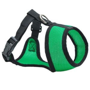 Dog Chest Breathable Dog Harness-pawproducts.net-dark green-XS-pawproducts.net