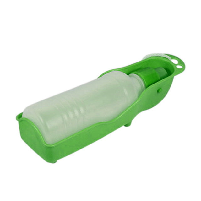 Pet Dog Water Bottle 250ml Foldable Portable Drinking Bottle-pawproducts.net-Green-250ml-pawproducts.net
