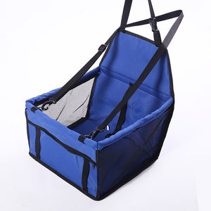 Travel Dog Car Seat Cover Folding-pawproducts.net-Blue-40x30x25cm-China-pawproducts.net