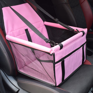 Travel Dog Car Seat Cover Folding-pawproducts.net-Pink-40x30x25cm-China-pawproducts.net