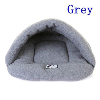 6 Colors Soft Polar Fleece Dog Beds-pawproducts.net-Grey-L-pawproducts.net