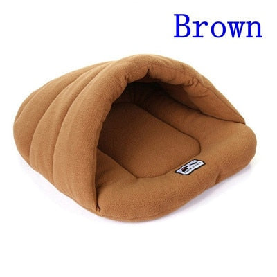 6 Colors Soft Polar Fleece Dog Beds-pawproducts.net-Camel-L-pawproducts.net