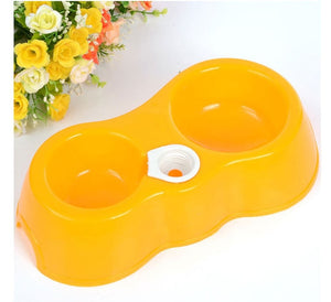 Cheap Portable Cat Feeder-pawproducts.net-yellow-one size-pawproducts.net