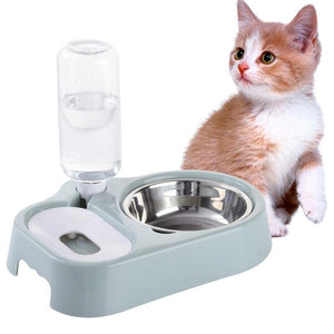 Cat Automatic Water Glass Cup-pawproducts.net-Pink-pawproducts.net