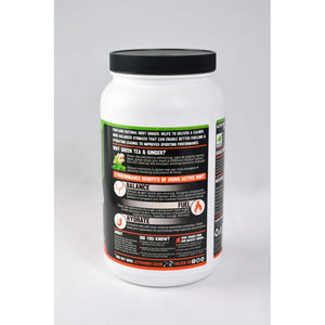 ACTIVE ROOT - GREEN TEA AND GINGER FLAVOUR - 1.4KG MIX TUB (40 SERVINGS)