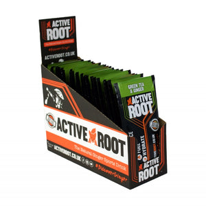 ACTIVE ROOT - GINGER AND GREEN TEA - 20 Single Sachet Box