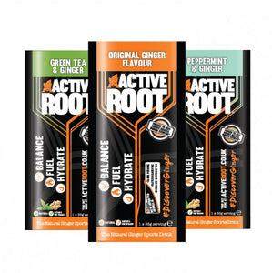 ACTIVE ROOT - MIX OF THREE TASTER  SACHET
