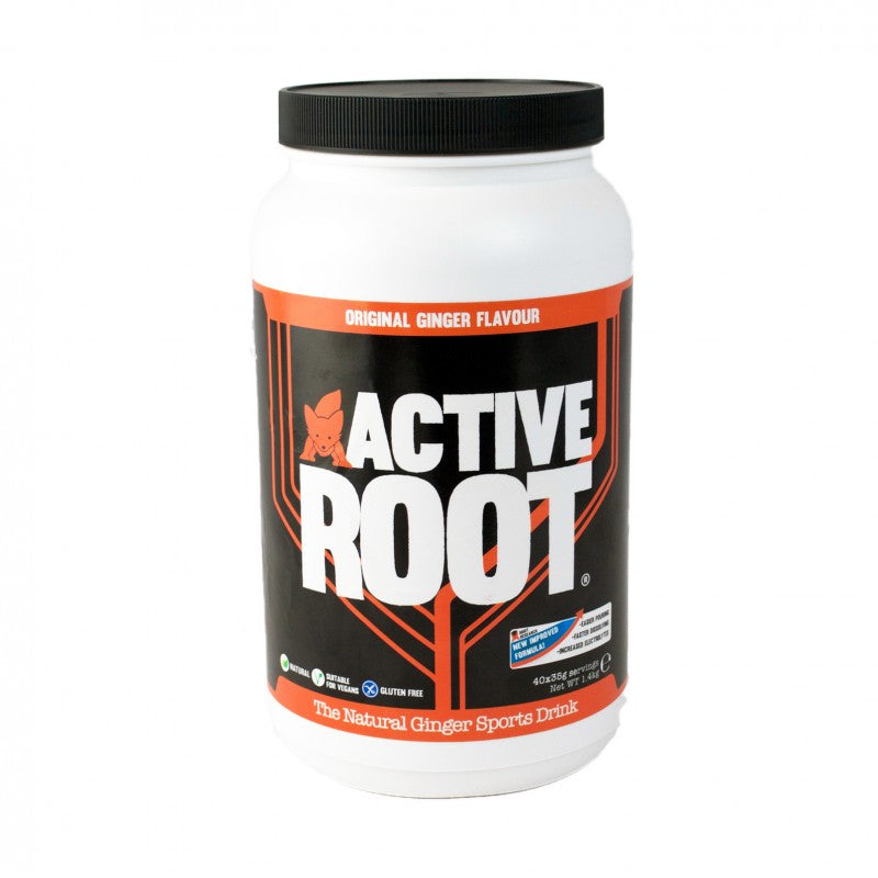 ACTIVE ROOT - ORIGINAL GINGER FLAVOUR - 1.4KG MIX TUB (40 SERVINGS)