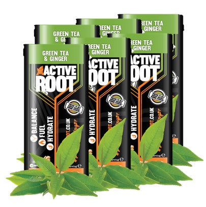 ACTIVE ROOT - GINGER AND GREEN TEA - SET OF SIX SACHETS
