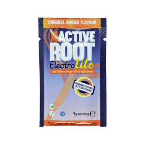 ACTIVE ROOT - ELECTRO-LITE GINGER- 20 Single Sachet Box