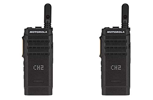 Motorola SL300-V-SC-99 VHF 136-174MHz 99 Channel 3 Watt Digital DMR Display Radio AAH88JCP9JA2AN (2 Pack)