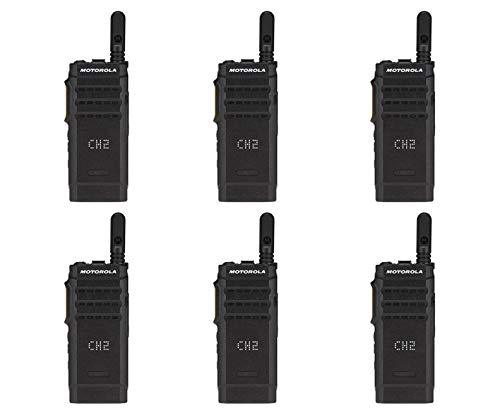 Motorola SL300-U-SC-99 AAH88QCP9JA2AN UHF 403-470MHz 99 Channel 3 Watt Digital DMR Display Radio (6 Pack)