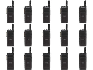 Motorola SL300-U-SC-99 AAH88QCP9JA2AN UHF 403-470MHz 99 Channel 3 Watt Digital DMR Display Radio (15 Pack)