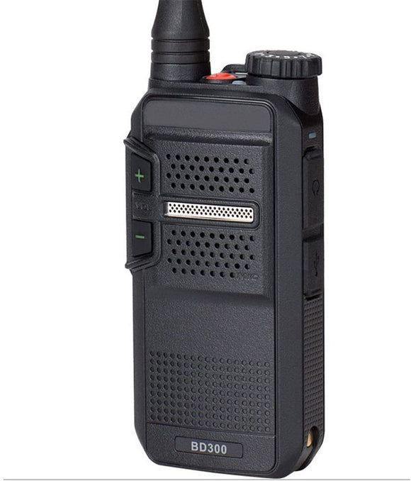 Hytera BD302i-U1 UHF 400-470MHZ 48 channel 3 zone 2 watt IP54 dual mode analog/digital DMR portable radio
