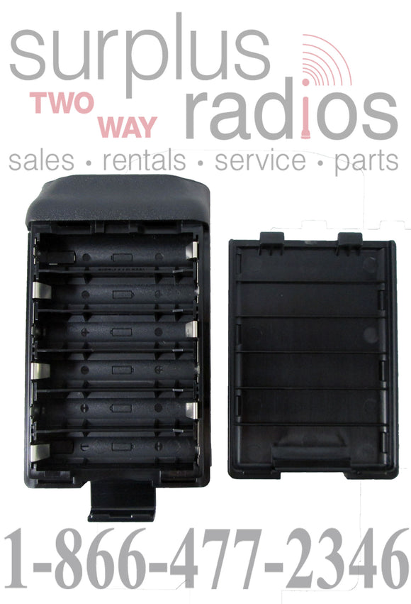 Alkaline BP240 battery case (holds 6 AA batteries) for Icom F3011 F4011 F3021 F4021 F3031 F4031 F14 F24 and more